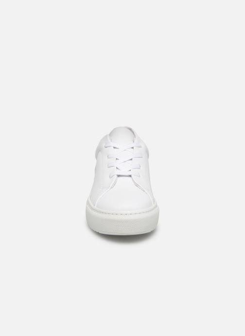 Deportivas Vero Moda Vmana Leather Sneaker Wide Blanco vista del modelo