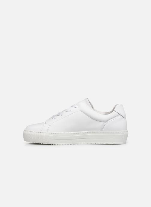 Deportivas Vero Moda Vmana Leather Sneaker Wide Blanco vista de frente