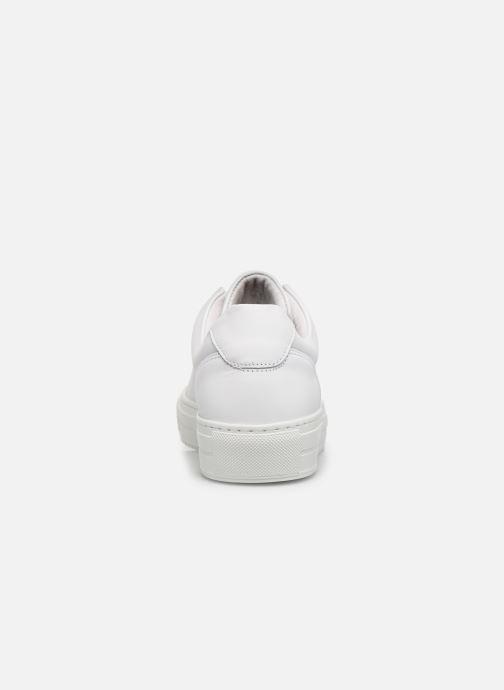 Deportivas Vero Moda Vmana Leather Sneaker Wide Blanco vista lateral derecha