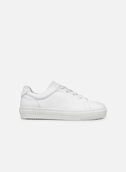Deportivas Vero Moda Vmana Leather Sneaker Wide Blanco vistra trasera