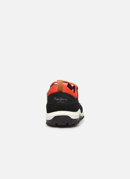 Trainers Pepe jeans Arcade Trekking Black view from the right