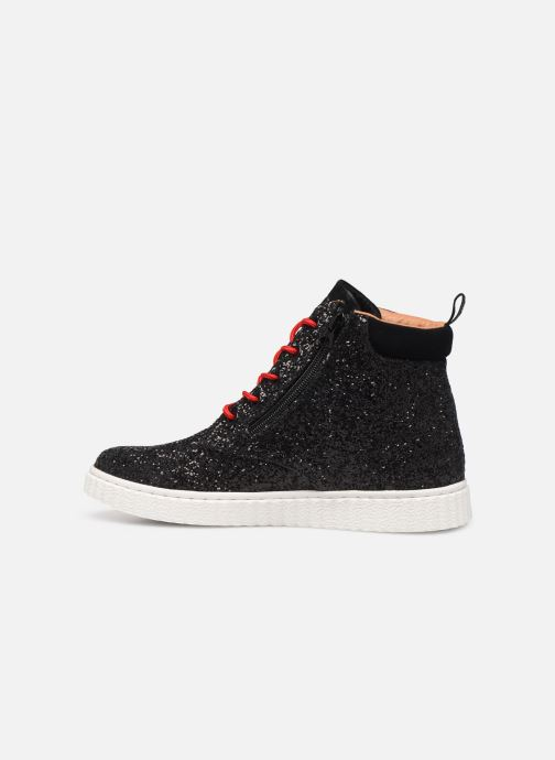 Trainers Pepe jeans Taylor Glitter Black front view