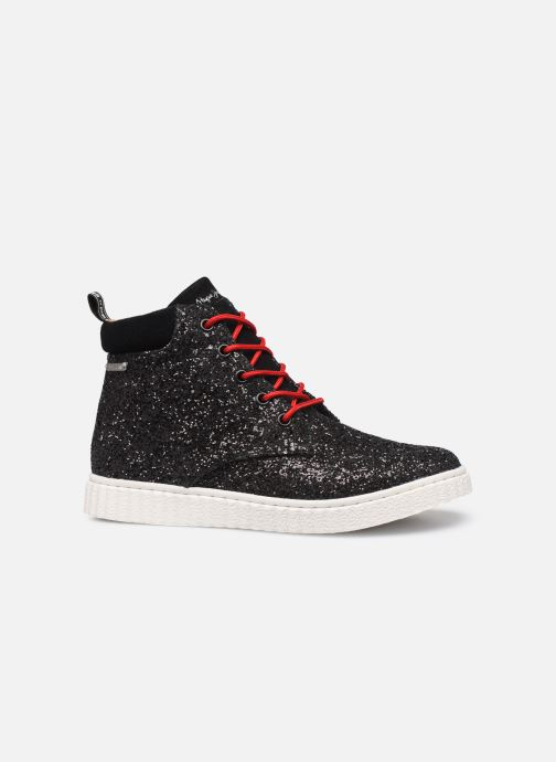 Trainers Pepe jeans Taylor Glitter Black back view
