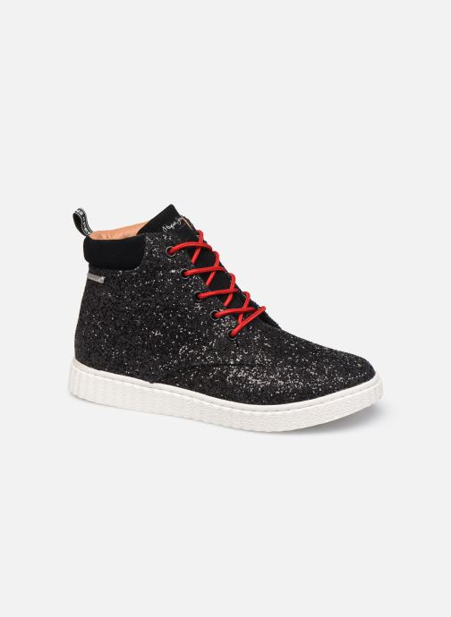 Trainers Pepe jeans Taylor Glitter Black detailed view/ Pair view