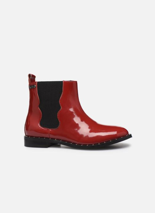 Boots en enkellaarsjes Pepe jeans Mika Chelsea Pattent Rood achterkant