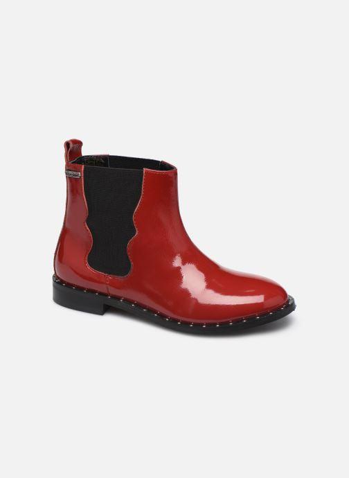 Bottines et boots Pepe jeans Mika Chelsea Pattent Rouge vue détail/paire