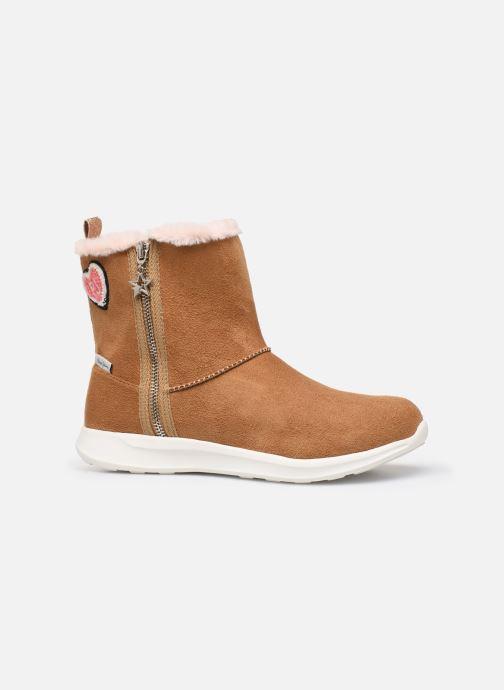 Støvler & gummistøvler Pepe jeans Amanda Boot Zip Brun se bagfra