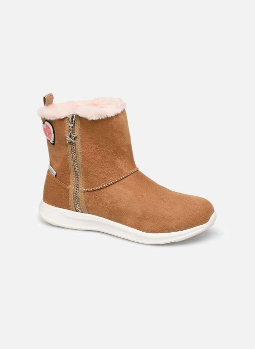 Støvler & gummistøvler Pepe jeans Amanda Boot Zip Brun detaljeret billede af skoene