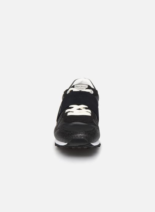 Trainers Pepe jeans Verona W New Elastic Black model view