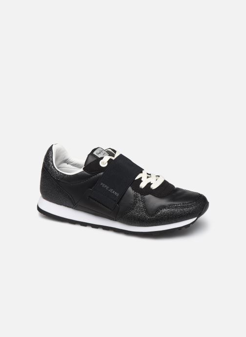 Trainers Pepe jeans Verona W New Elastic Black detailed view/ Pair view