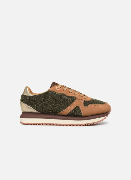 Trainers Pepe jeans Zion Lux Brown back view