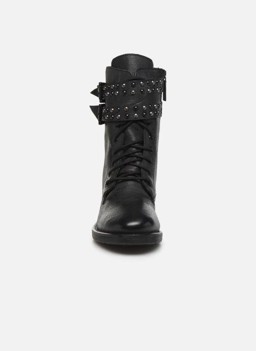 Bottines et boots Pepe jeans Maddox Army Noir vue portées chaussures
