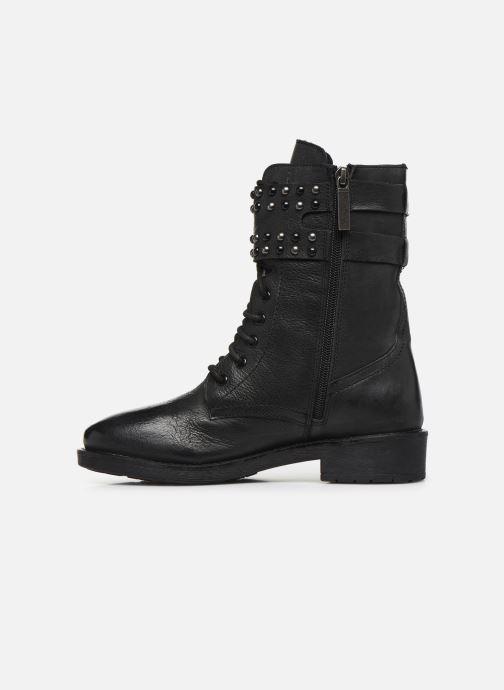 Boots en enkellaarsjes Pepe jeans Maddox Army Zwart voorkant
