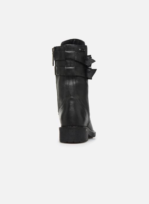 Boots en enkellaarsjes Pepe jeans Maddox Army Zwart rechts