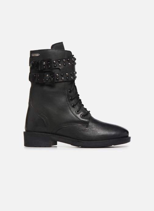 Boots en enkellaarsjes Pepe jeans Maddox Army Zwart achterkant
