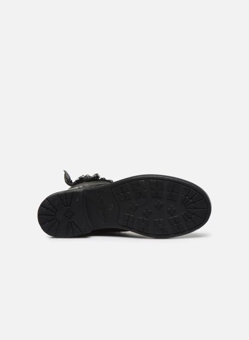 Bottines et boots Pepe jeans Maddox Army Noir vue haut