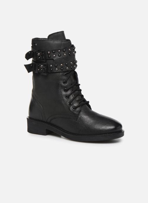 Bottines et boots Pepe jeans Maddox Army Noir vue détail/paire