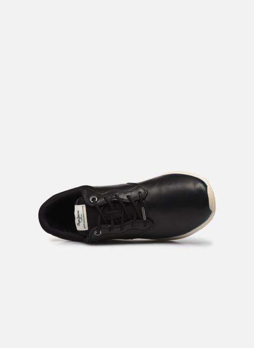 Sneaker Pepe jeans Jayker Dual Lth schwarz ansicht von links