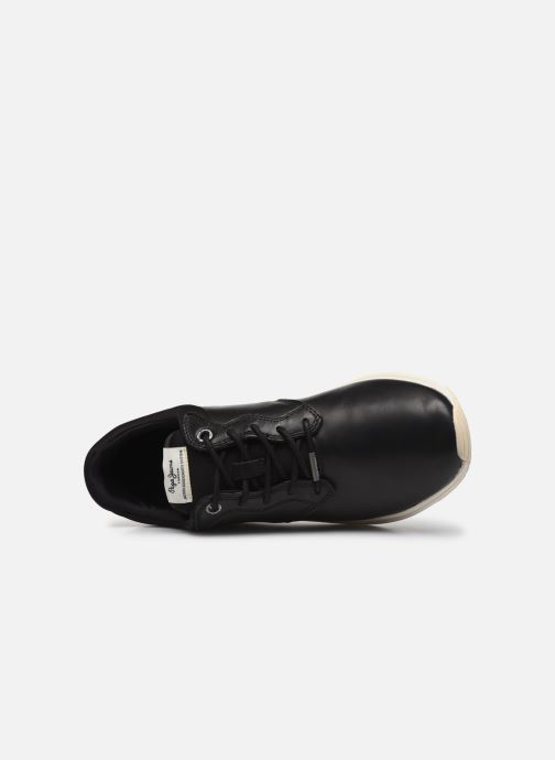 Sneakers Pepe jeans Jayker Dual Lth Nero immagine sinistra