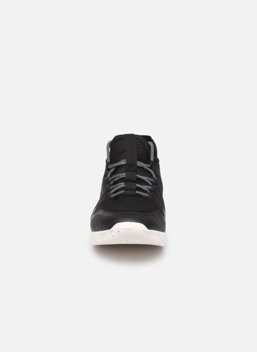 Baskets Pepe jeans Wade Knitsock Noir vue portées chaussures