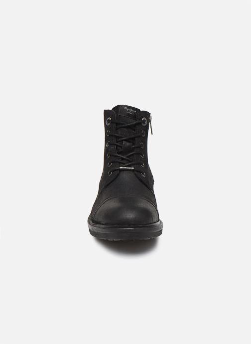 Boots en enkellaarsjes Pepe jeans Hubert Suede Zwart model