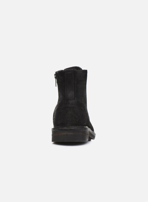 Boots en enkellaarsjes Pepe jeans Hubert Suede Zwart rechts