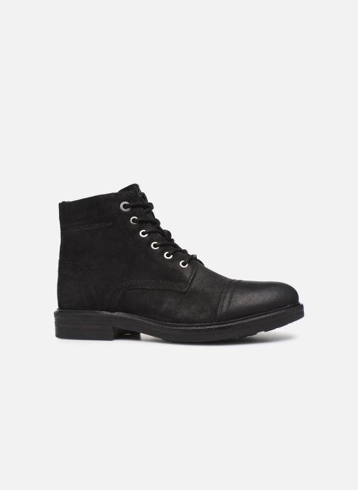 Boots en enkellaarsjes Pepe jeans Hubert Suede Zwart achterkant