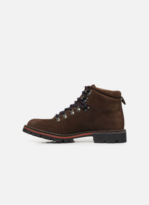 Chaussures de sport Pepe jeans Mountaineer Suede Marron vue face