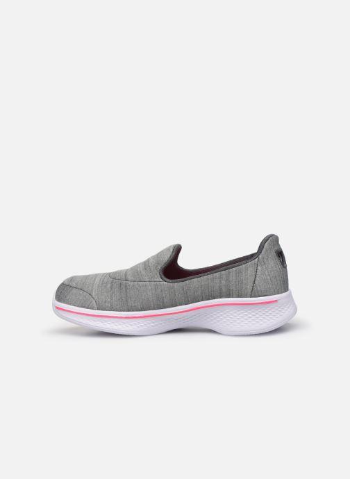 Sneakers Skechers Go Walk 4/Satisfy Grigio immagine frontale