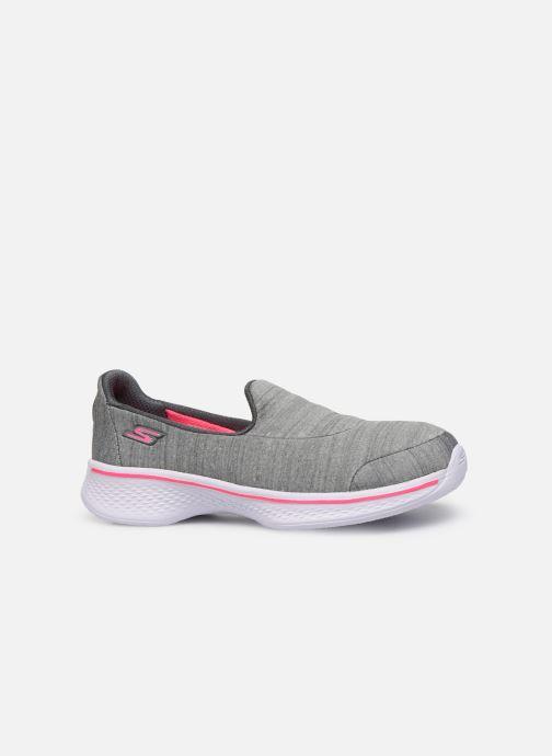 Sneakers Skechers Go Walk 4/Satisfy Grigio immagine posteriore
