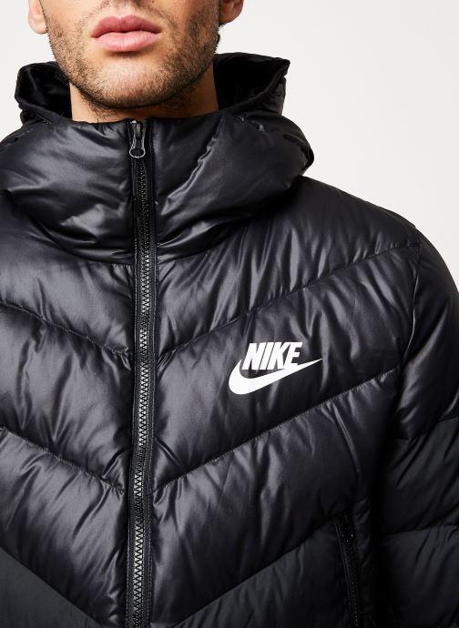 Vêtements Nike M Nsw Dwn Fill Wr Jkt Hd Noir vue face