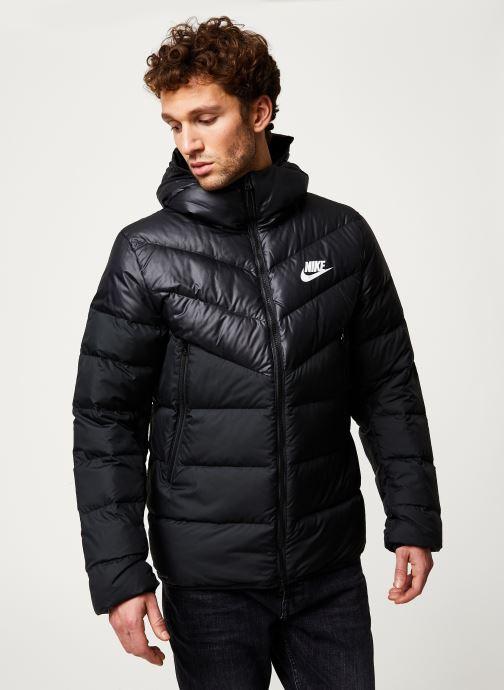 Vêtements Nike M Nsw Dwn Fill Wr Jkt Hd Noir vue droite