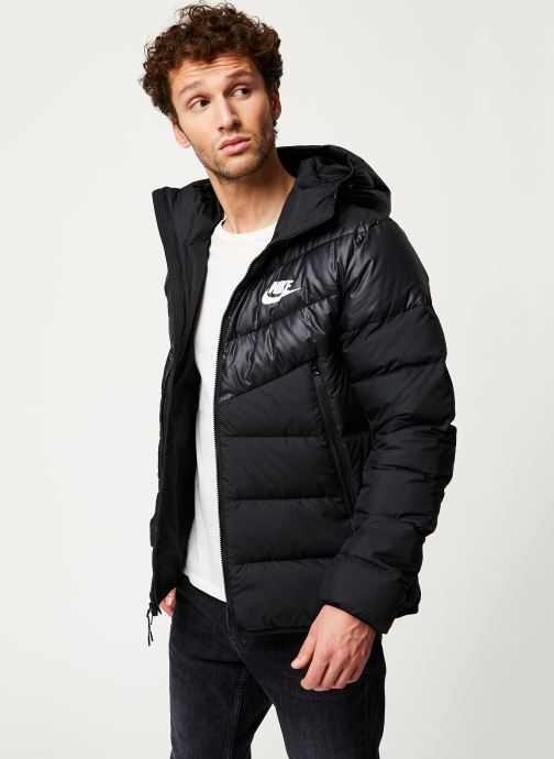 Vêtements Nike M Nsw Dwn Fill Wr Jkt Hd Noir vue détail/paire