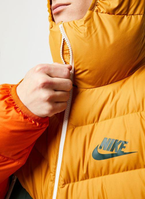 Vêtements Nike M Nsw Dwn Fill Wr Jkt Hd Jaune vue face