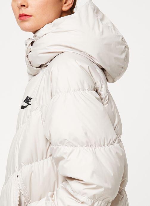 Vêtements Nike W Nsw Dwn Fill Parka Long Stmt Blanc vue face