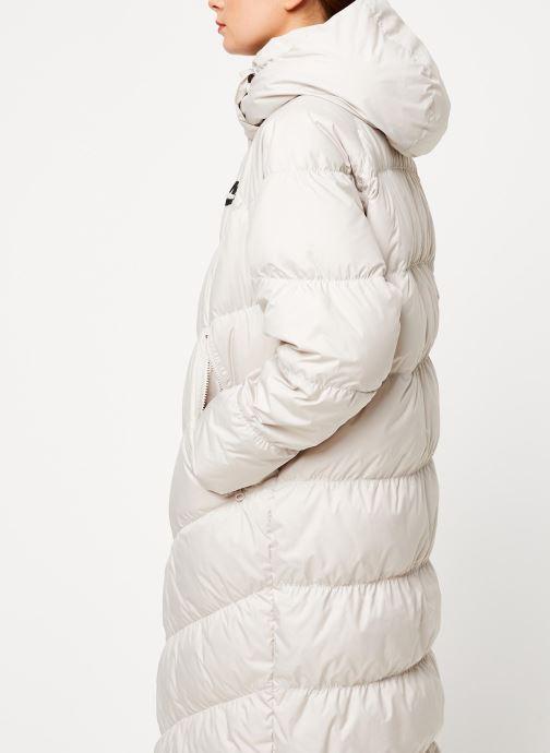 Vêtements Nike W Nsw Dwn Fill Parka Long Stmt Blanc vue droite
