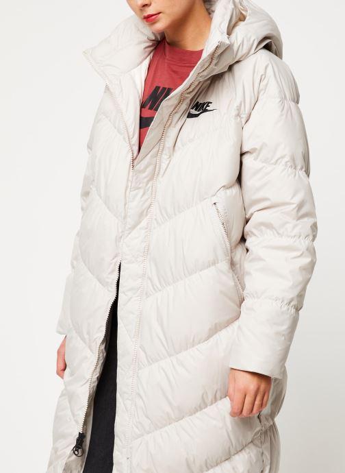 Vêtements Nike W Nsw Dwn Fill Parka Long Stmt Blanc vue détail/paire