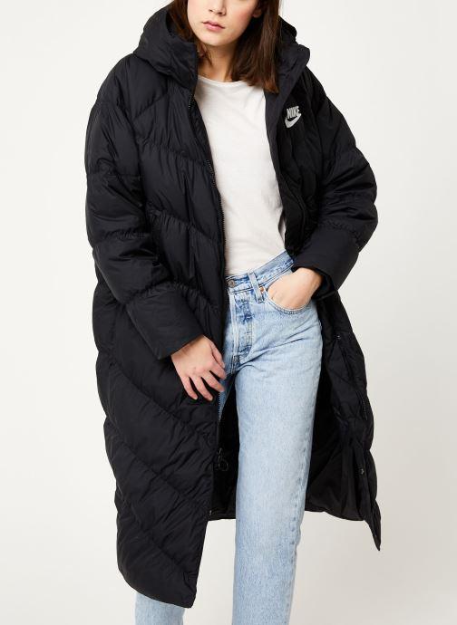 Vêtements Nike W Nsw Dwn Fill Parka Long Stmt Noir vue détail/paire
