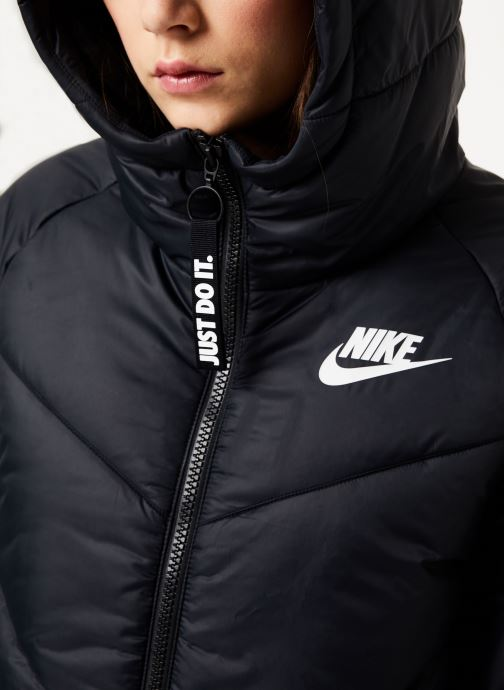 Vêtements Nike W Nsw Wr Syn Fill Jkt Hd Noir vue face