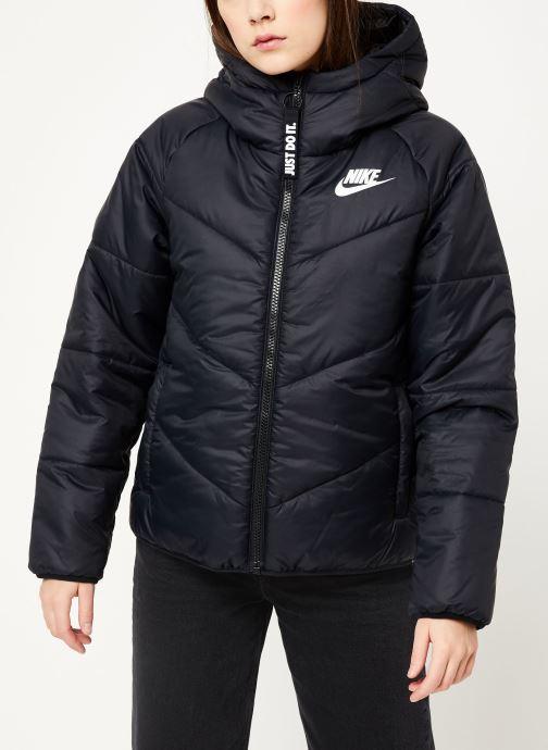Vêtements Nike W Nsw Wr Syn Fill Jkt Hd Noir vue droite