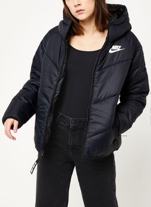 Vêtements Nike W Nsw Wr Syn Fill Jkt Hd Noir vue détail/paire