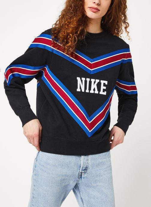 Vêtements Nike W Nsw Nsp Crew Flc Noir vue détail/paire