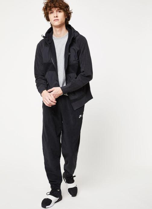 Vêtements Nike M Nsw Ce Hoodie Fz Winter Noir vue bas / vue portée sac