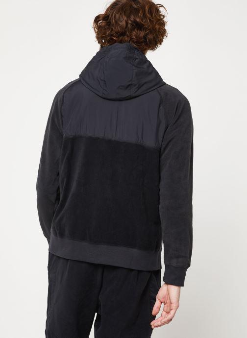 Vêtements Nike M Nsw Ce Hoodie Fz Winter Noir vue portées chaussures
