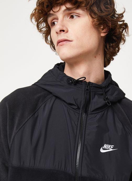 Vêtements Nike M Nsw Ce Hoodie Fz Winter Noir vue face