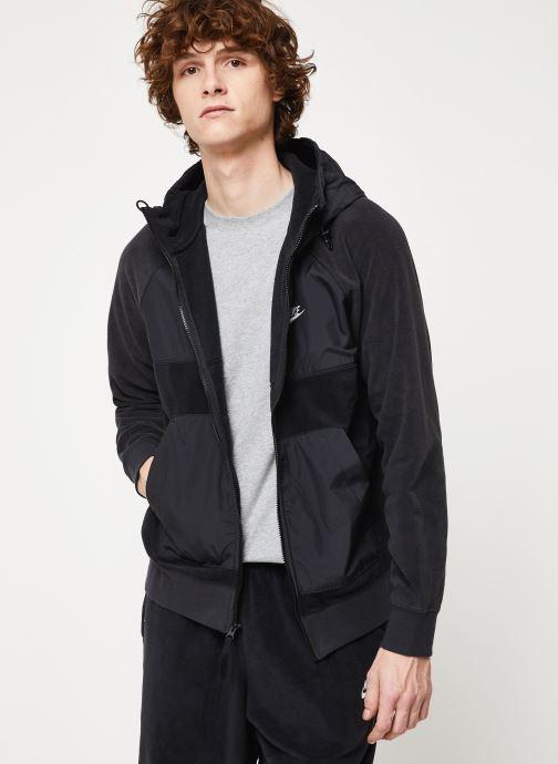 Vêtements Nike M Nsw Ce Hoodie Fz Winter Noir vue détail/paire