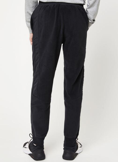 Vêtements Nike M Nsw Ce Pant Winter Noir vue portées chaussures