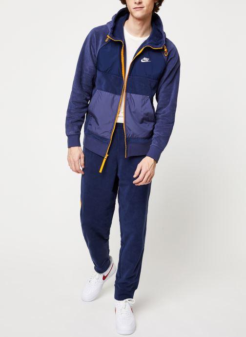 Vêtements Nike M Nsw Ce Pant Winter Bleu vue bas / vue portée sac