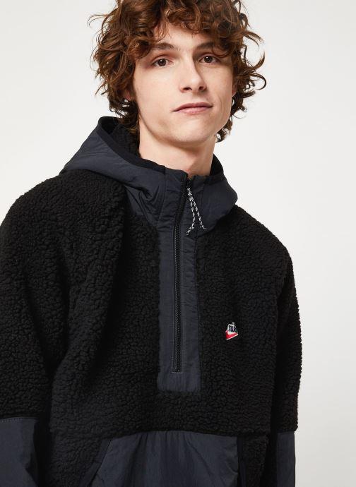 Vêtements Nike M Nsw He Hoodie Hz Winter Noir vue face