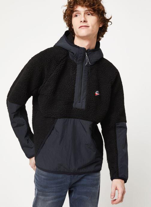 Vêtements Nike M Nsw He Hoodie Hz Winter Noir vue droite